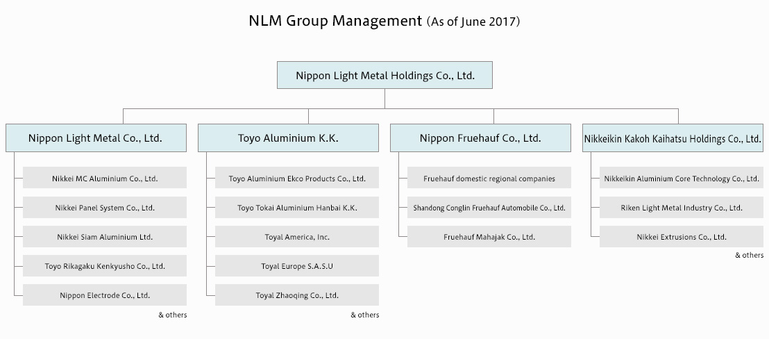 NLM Group Management (As of June 2017)